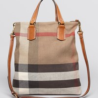 Burberry Brit Satchel - Medium Tottenham Bin | Bloomingdale's