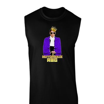 Notorious RBG Dark Muscle Shirt  by TooLoud