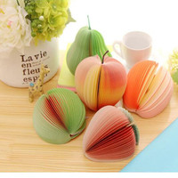 Office Fruit Sticker Post It Bookmark Marker Memo Index Pad Tab Sticky Notes