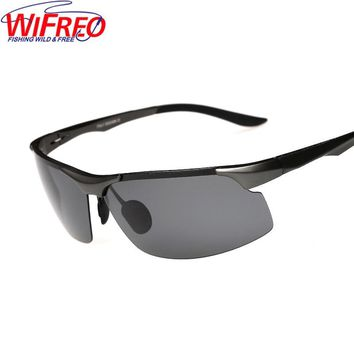 Wifreo Sun Glasses UV400 Outdoor Sport Riding Fishing Eyewear Clips Goggles Sunglasses