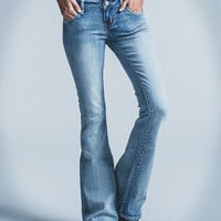 RSQ Venice Womens Flare Jeans | Flare