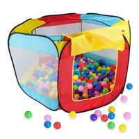New Fun Kids Playing House Pool Indoor Outdoor Foldable Ocean Ball Pool Pit Hideaway Tent Play Hut  Game Baby Toys Play TentKids