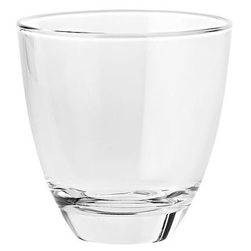Majestic Gifts E64623-S6 Quality Glass Double Old Fashioned Tumbler 12 oz. Set of 6