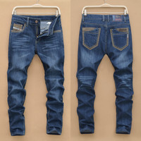 Winter Fashion Men's Fashion Korean Men Pants Slim Stylish Jeans [6528424643]