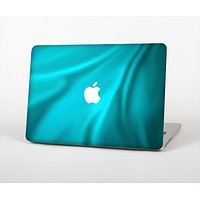 "The Turquoise Blue Highlighted Fabric Skin Set for the Apple MacBook Pro 15"" with Retina Display"