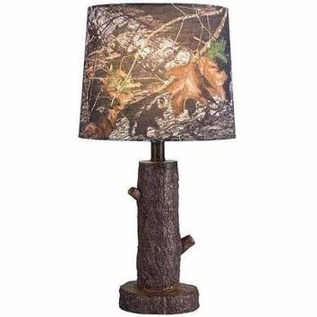 Mossy Oak Stump Accent Lamp