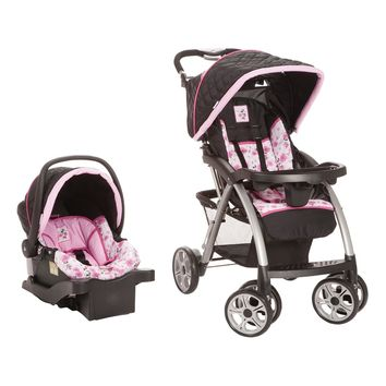 Disney Saunter Luxe Travel System Minnie 327995389 | Travel System Strollers | Baby Gear | Burlington Coat Factory