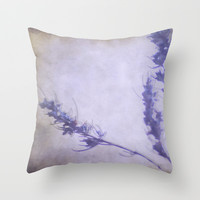 Purple romero. Throw Pillow by Guido Montañés