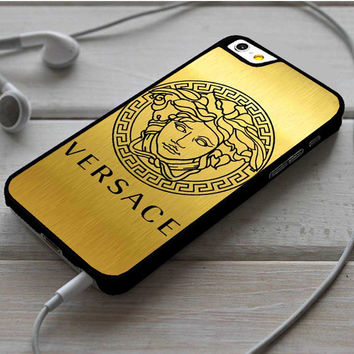Versace Logo Gold iPhone 6 | 6 Plus Case Dollarscase.com