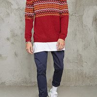 Zigzag Pattern Sweater