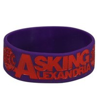 Asking Alexandria Eyeballs Wristband - Buy Online at Grindstore.com