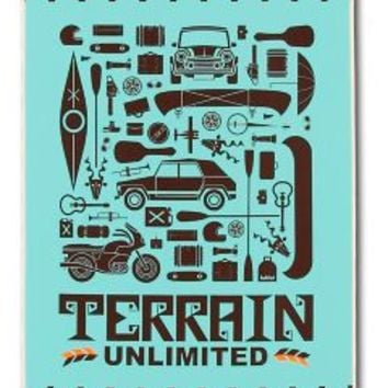 "Habitat Terrain Unlimited 8.5"" Skateboard Deck"