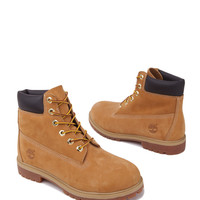 Timberland 6-Inch Premium Waterproof Boots in Wheat