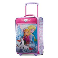 American Tourister Luggage, Disney's Frozen 18-inch Upright Wheeled Luggage Case - Kids
