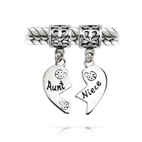 Bling Jewelry Best Auntie Charm