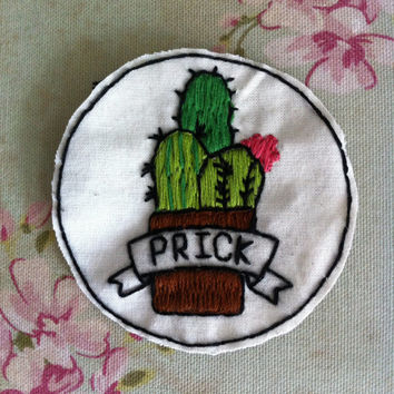 Prick (cactus) patch
