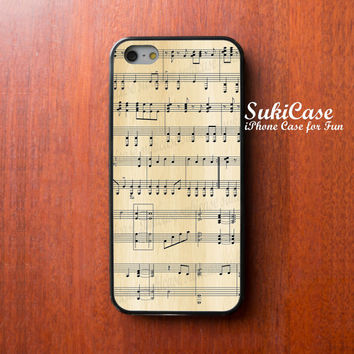 MUSIC IPHONE 4 CASE Piano Chart On Wooden iPhone 5s Case iPhone 5 Case iPhone Case Samsung Galaxy S4 S3 Cover iPhone 5c cases iPhone 4s case