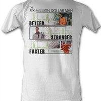 Better, Stronger, Faster Six Million Dollar Man T-Shirt | More Vintage TV Show T-Shirts from Old School Tees