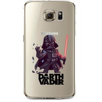 Star Wars Darth Vader Jelly Clear Case for Samsung Galaxy S7 EDGE