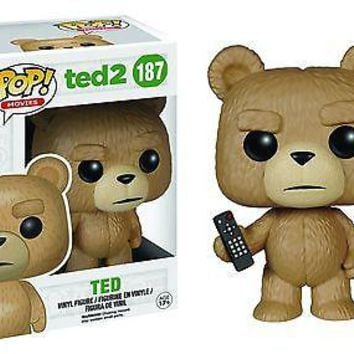 Funko Pop  Movies Vinyl Ted 2 Ted with Remote 5432