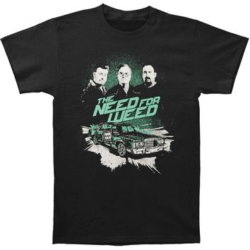 Trailer Park Boys Men's  Need For Weed Tee T-shirt Black