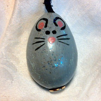Mouse Gourd Ornament