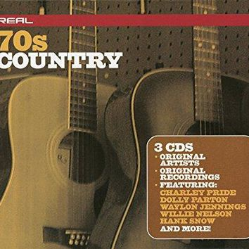 VARIOUS ARTISTS - Real 70's Country