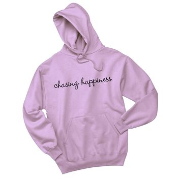 "Jonas Brothers ""Chasing Happiness (Script)"" (Sizes 2XL - 5XL) Hoodie Sweatshirt"