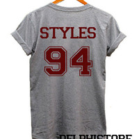 harry styles one direction shirt harry styles shirt t shirt tshirt tee shirt sport grey printed unisex size (DL-59)