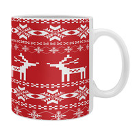 Natt Christmas Red Deer Coffee Mug