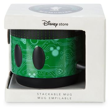 Disney Store Mickey Memories October Limited Stackable Coffee Mug New with Box