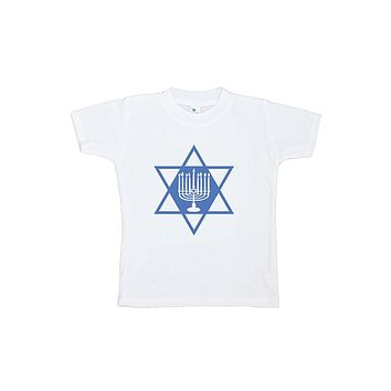 Custom Party Shop Baby's Menorah Hanukkah T-shirt