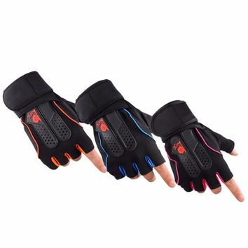 Super durable weight lifting glove for men or women