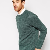 ASOS Jumper with Brushed Hair at asos.com
