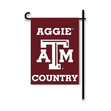 2-Sided Country Garden Flag Texas A&M Aggies - 83230