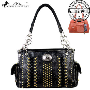 Montana West MW146G-8085 Concealed Carry Handbag
