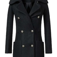 New Winter Section Slim Alpaca Woolen Overcoat,Cheap in Wendybox.com