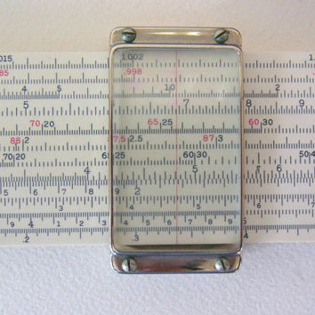 slide rule / versalog slide rule / post slide rule / antique slide rule / slide rule vintage