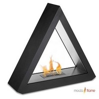 Moda Flame Burgos Free Standing Floor Indoor Outdo - Modern Fireplaces by Agilest Collections