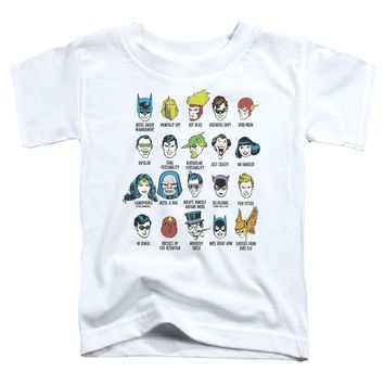 Dc - Superhero Issues Short Sleeve Toddler Tee Shirt Officially Licensed T-Shirt