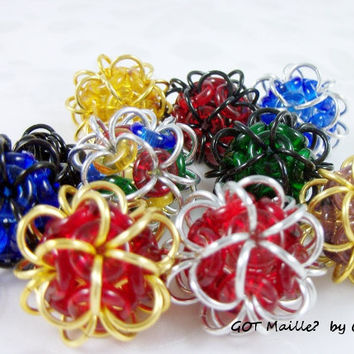 Gadget  Trinket  Fidget Balls  Unique by GOTMaillebyChristy