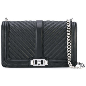 Rebecca Minkoff Chevron Quilted 'Love' Bag - Farfetch