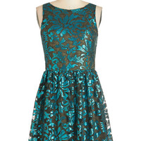ModCloth Mid-length Sleeveless A-line All About the Glamour Dress