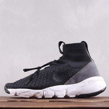 DCCK2 N258 Nike Air Footscape Magista Flyk Running Shoes Black Grey