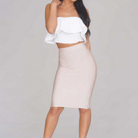 Gale Two Piece Bandage Dress