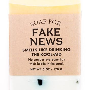 Fake News Orange Kool-Aid Scented Soap - Smells Like Drinking The Kool-Aid