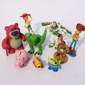 Toy Story Buzz Lightyear Woody Dinosaur Toys Movie Characters ✈Worldwide Delivery
