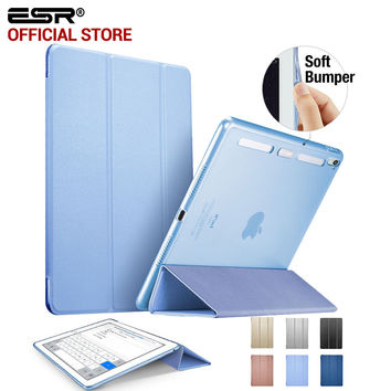 ESR Magnetic Auto Wake soft Corner color Smart Cover Trifold Stand Tablet Case for iPad Pro 9.7""