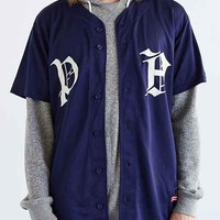 Profound Aesthetic Old Timer Baseball Jersey- Navy