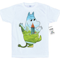 The Moomin T shirt Artwork, Moominvalley
